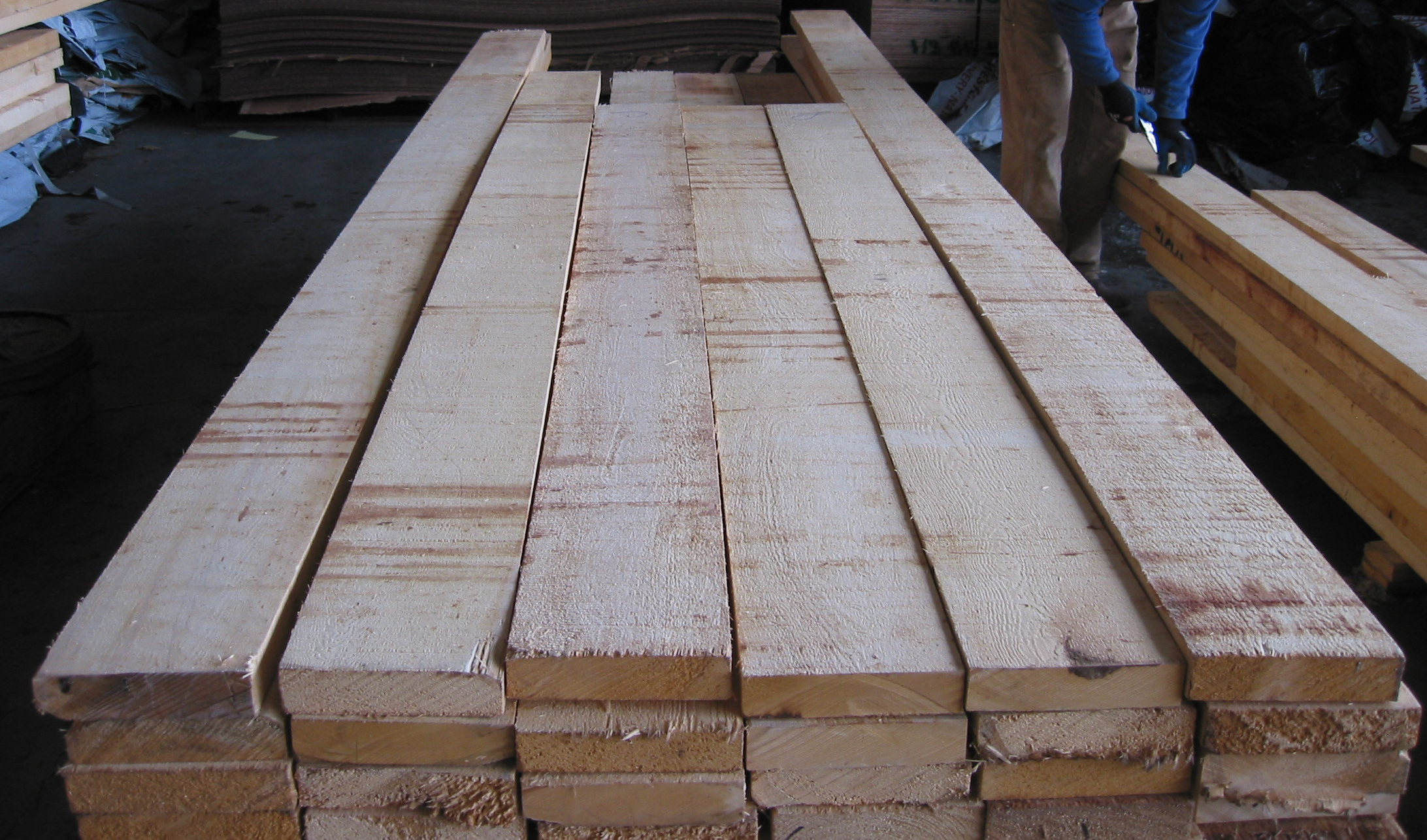 Bear Creek Lumber Alaskan Yellow Cedar Boards Rough Cut