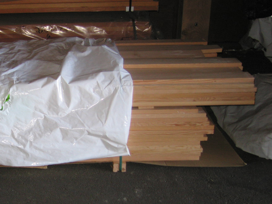 picture 1x12 clear vertical grain fir board, surfaced on four sides