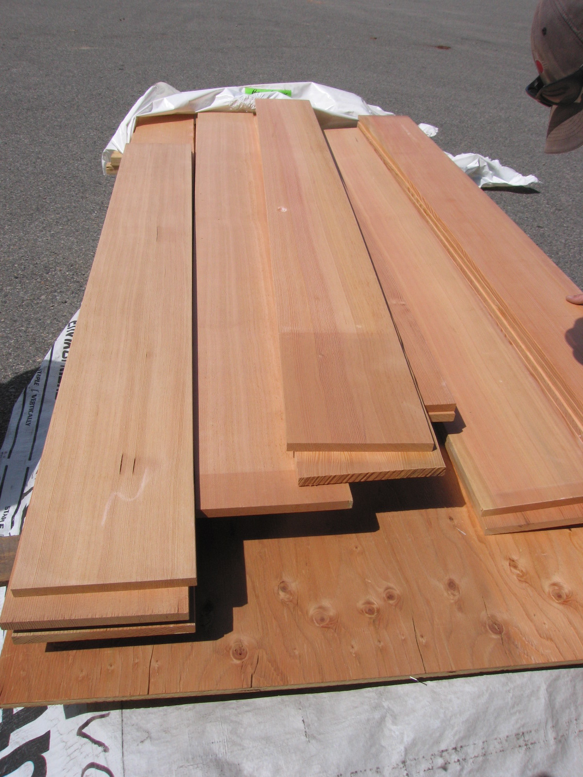 Bear Creek Lumber Douglas Fir Boards Surfaced Four Sides