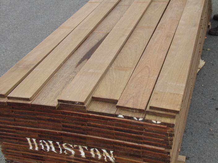 Bear Creek Lumber Ipe Boards Surfaced Four Sides
