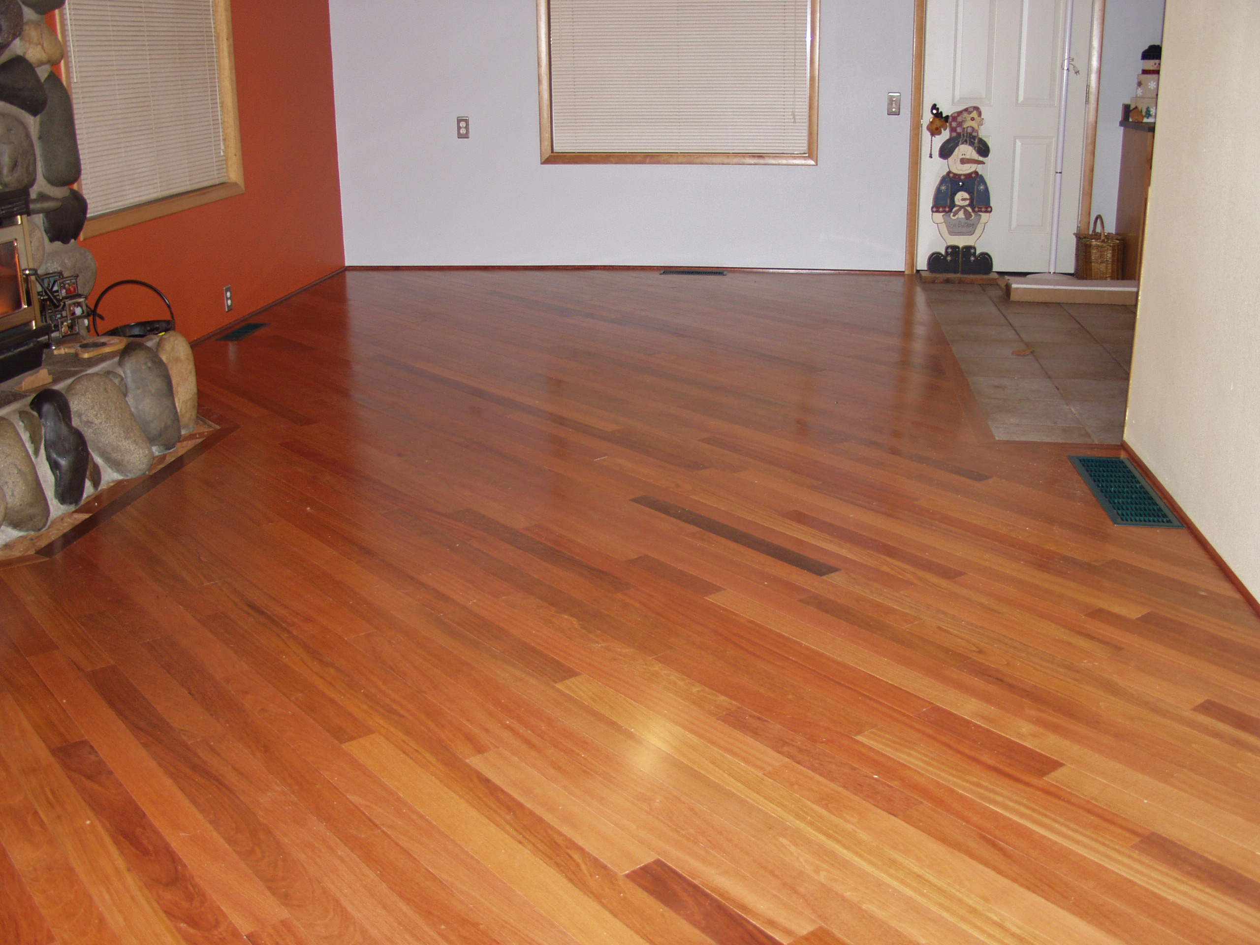 Another View Of The Hughes Jatoba Flooring