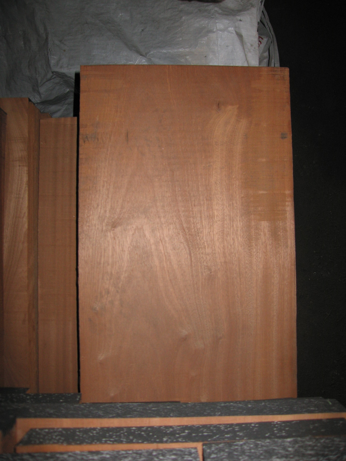 Bear Creek Lumber Mahogany Boards Rough Cut