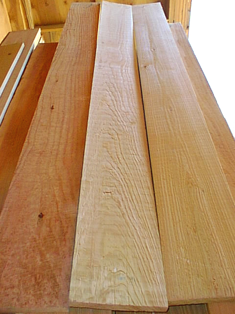 Bear Creek Lumber Western Red Cedar Boards Rough Cut
