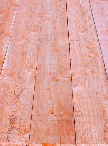 Bear Creek Lumber Western Red Cedar Boards Surfaced