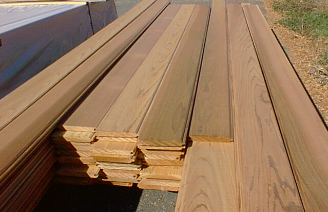 Western Red Cedar Paneling And Patters Tongue Groove
