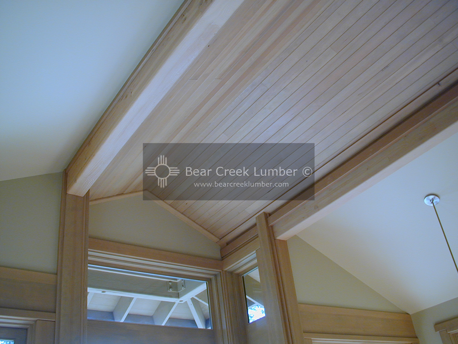 Hemlock Ceiling Paneling Bear Creek Lumber