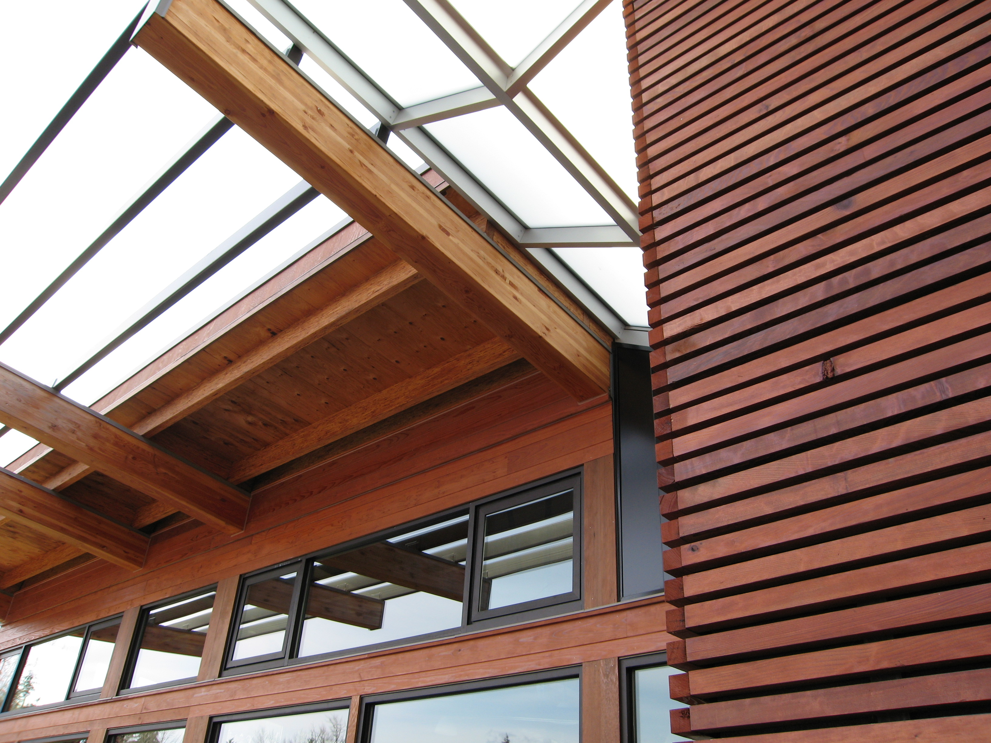 Bear Creek Lumber Featured Projects Lewis Creek Rec Center