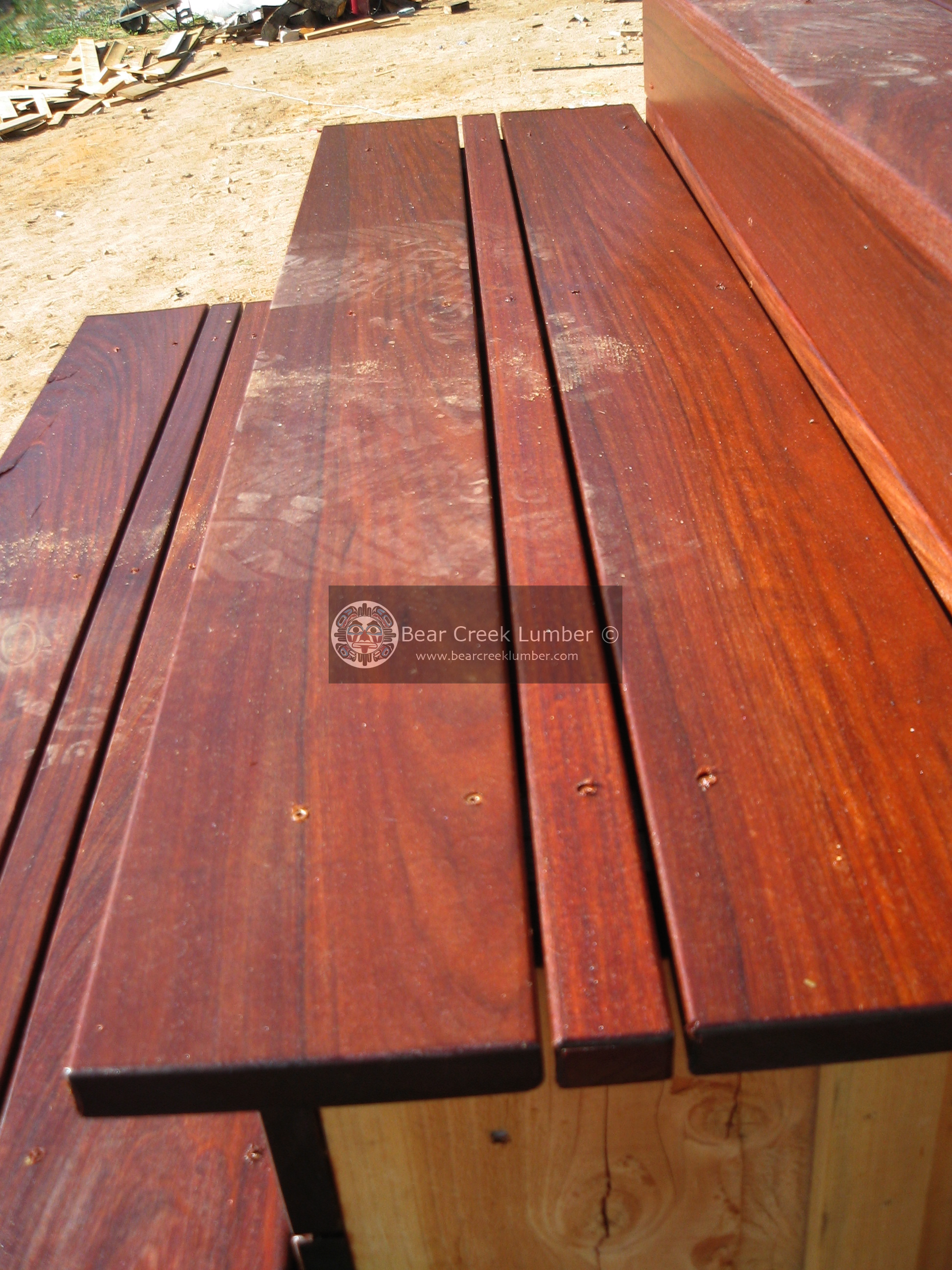 Bear Creek Lumber Featured Projects Ipe Deck In California