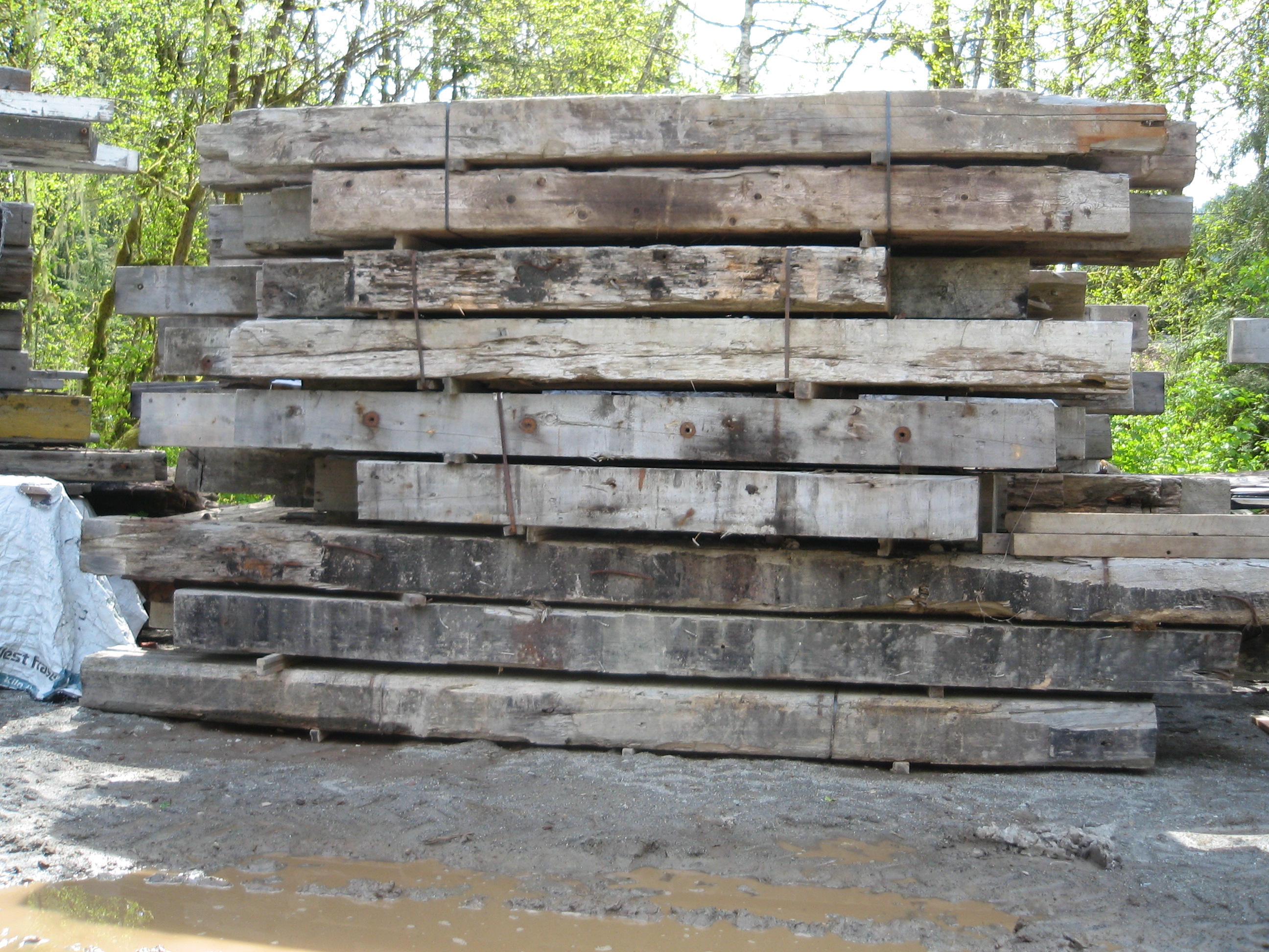 Reclaimed and recycled lumber bear creek lumber for Recycled hardwood