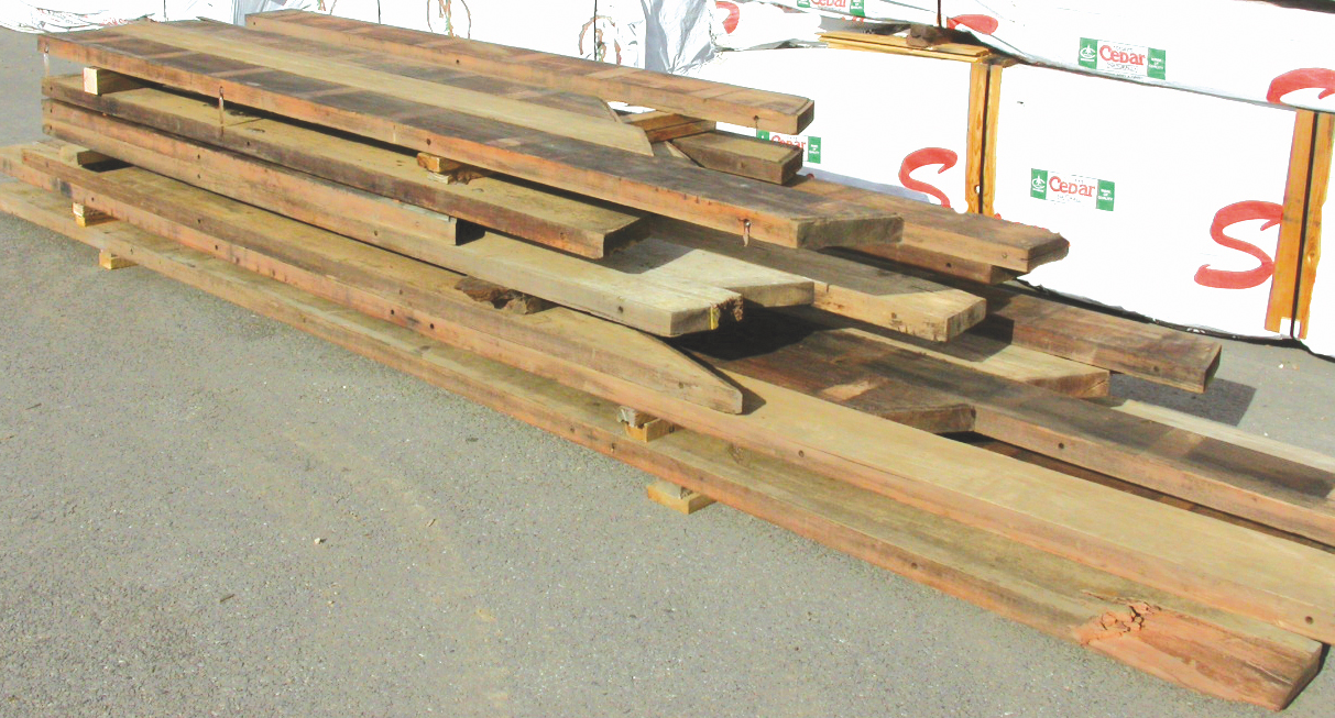 Reclaimed and recycled lumber bear creek lumber for Reclaimed decking boards