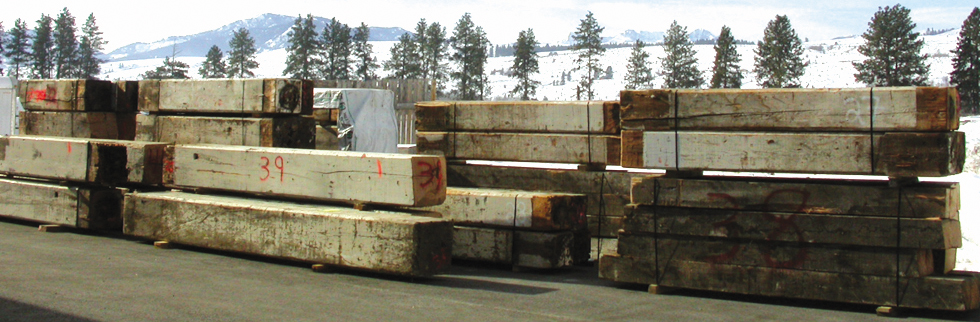 Why Use Reclaimed Lumber? - RECLAIMED AND RECYCLED LUMBER: BEAR CREEK LUMBER