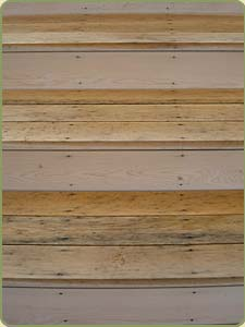 decking stairs with corroded screws