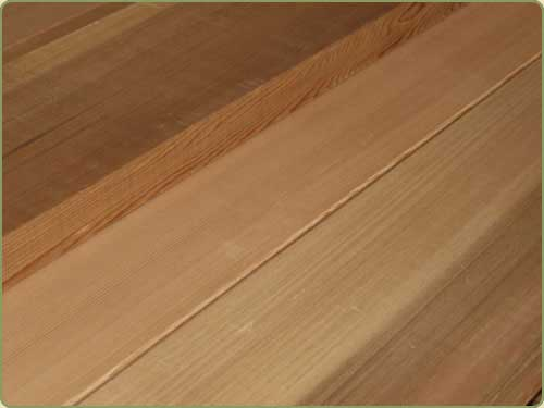 DETAILED IMAGE OF A AND BETTER CLEAR WESTERN RED CEDAR