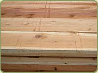 a sample image of red cedar number two and better grade.