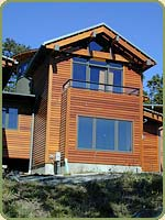 tongue and groove red cedar siding