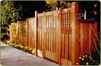 California Redwood Fencing