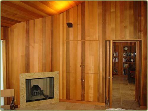 Cedar Wall Paneling : Western red cedar interior paneling bear creek lumber