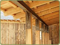 douglas fir post and beam icon