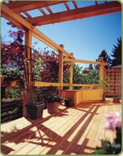port orfor cedar post and beams