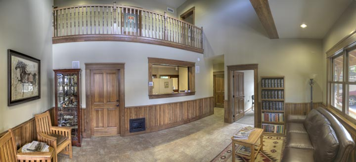 Room panorama, wainscot and wood  trim products