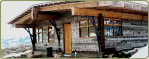 recycled redwood siding