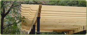 A  trellis build this AYC beams