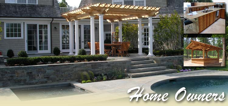 home owners can get supplies for remodels, new siding projects pergolas nad garden structures