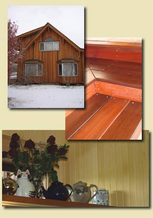 IPE DECKING, RED CEDAR SIDING IMAGES